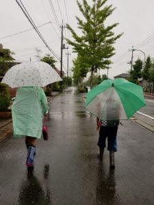 梅雨空が続いています